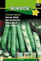 Bondböna - Dreifach Weisse