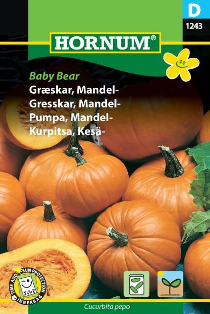 Mandel Pumpa - Baby Bear
