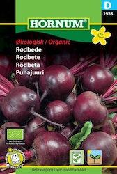 Rödbeta (Eko) - Hornum frø
