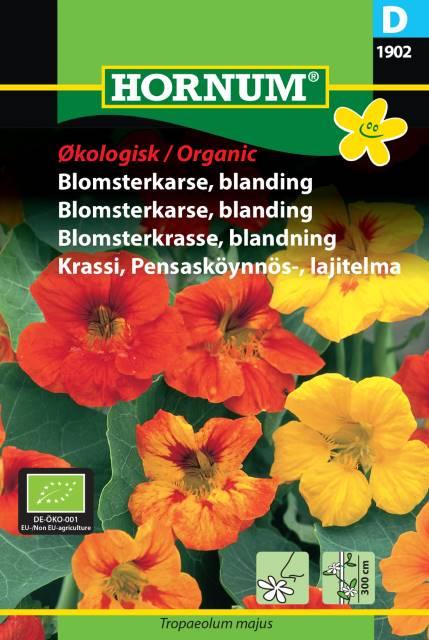 Blomsterkrasse mix (EKO) - Hornum frø