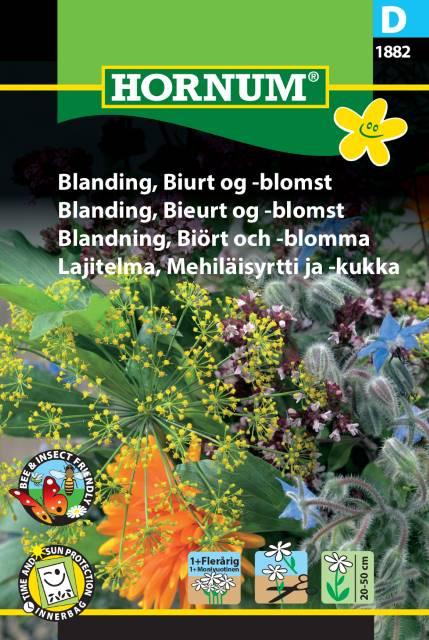 Örter & blommor för bin mix