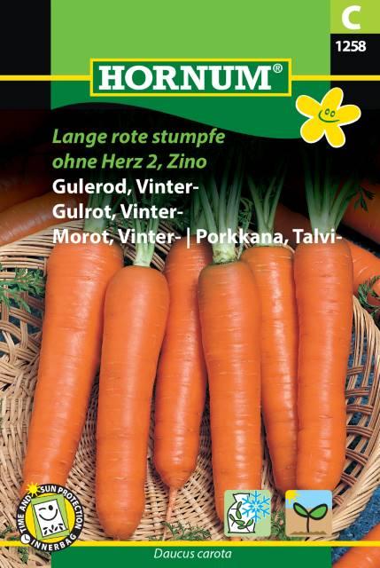 Vinter morot - Lange Rote Stumpfe ohne Herz 2, Zino