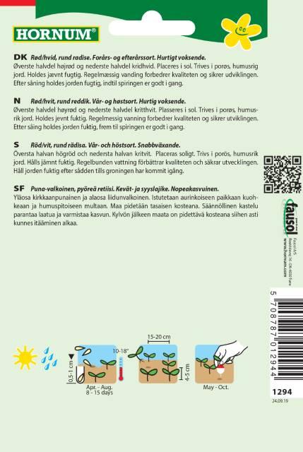Rädisa - Rundes halbrot  / halbweiss