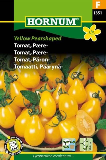Pärontomat - Yellow Pearshaped