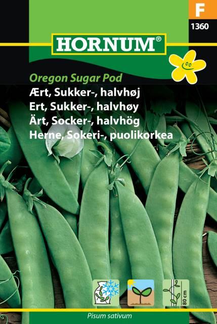 Halvhög Sockerärt - Oregon Sugar Pod
