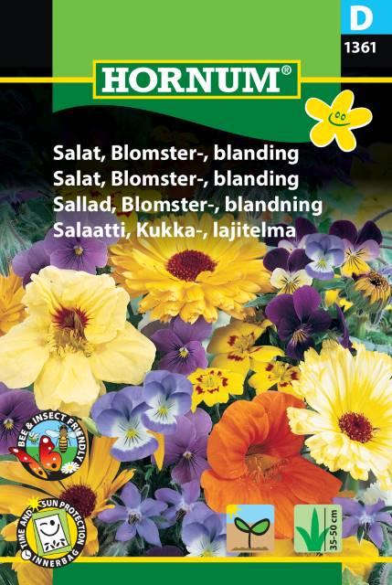 Ätbara Blommor, Mix