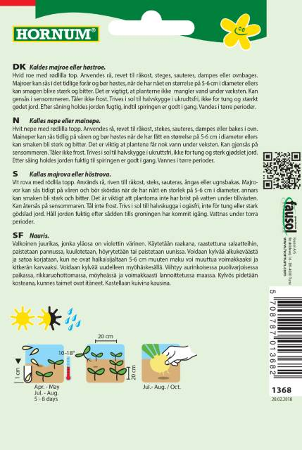 Åkerkål - Ronde witte Roodkop