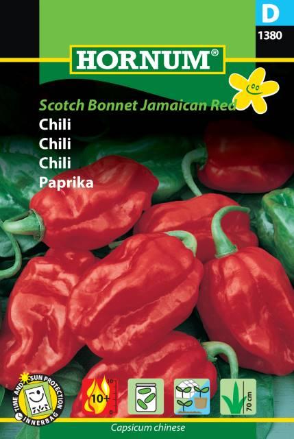 Chili - Scotch Bonnet Jamaican Red