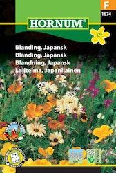 Japansk mix - hornum frø