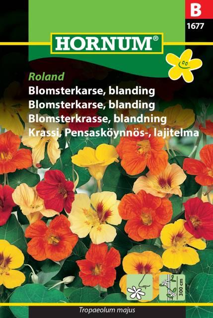 Blomsterkrasse mix - Roland