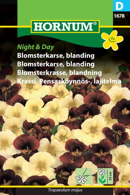 Blomsterkrasse - Night & Day