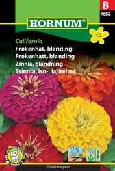 Zinnia mix - California
