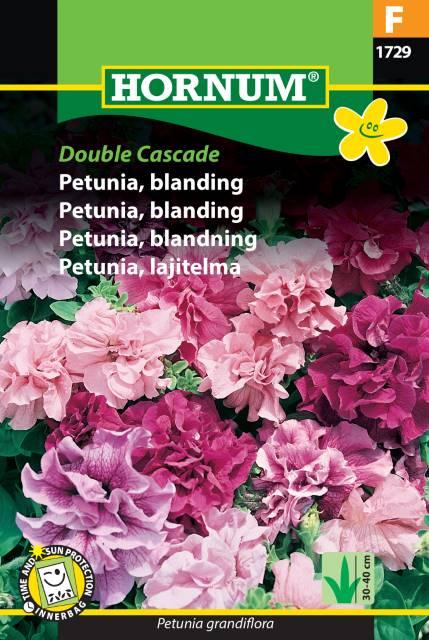Petunia mix, Double Cascade