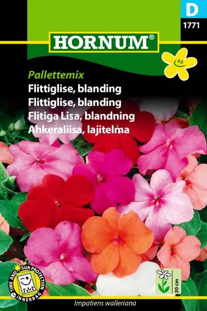 Flittiga Lisa mix - Pallettemix