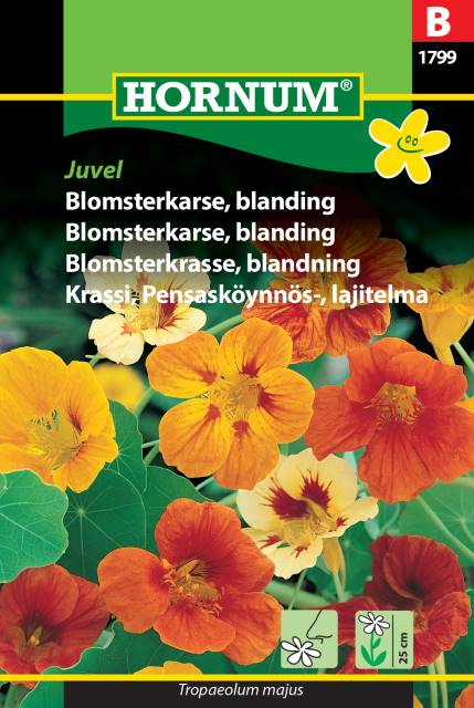 Blomsterkrasse mix - Juvel