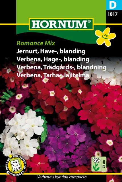 Trädgårdsverbena mix - Romance mix