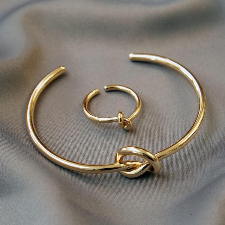 Bracelet + ring carmela