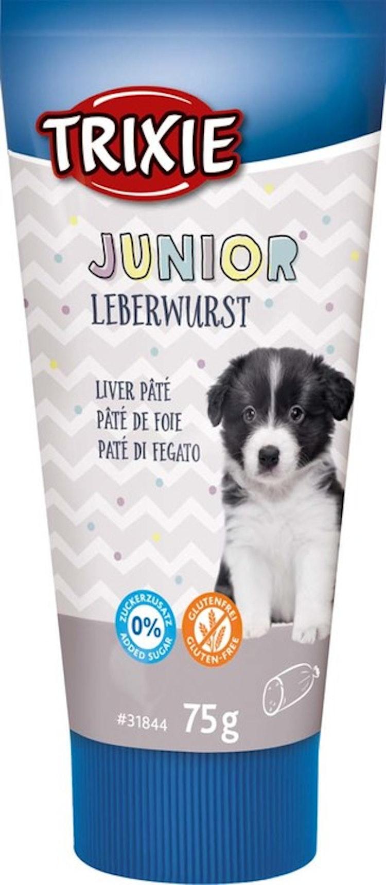 Junior leverpaté i tub