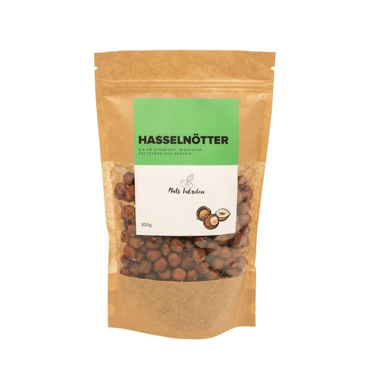 Hasselnötter 300 g