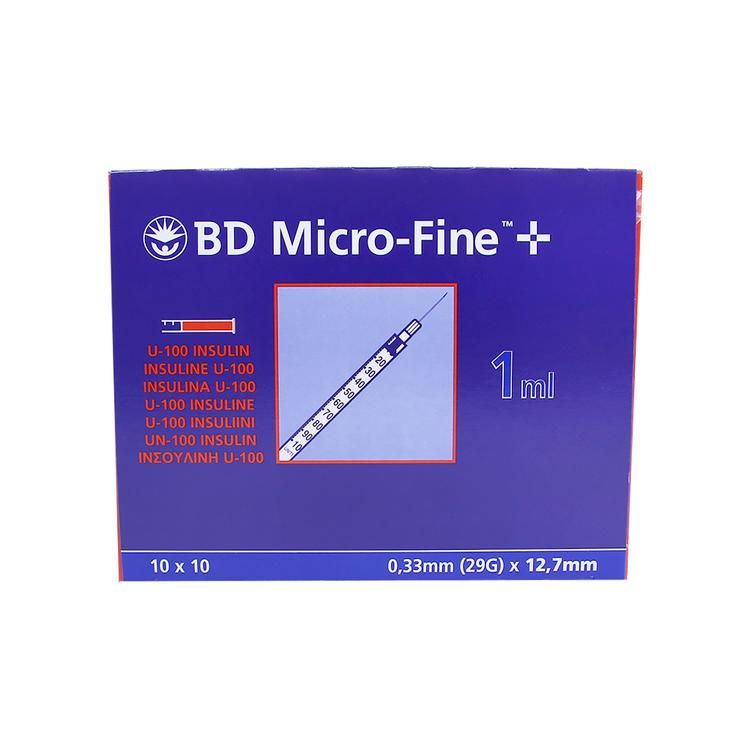 BD Micro-Fine+100st. Insulinspruta-1,0mm
