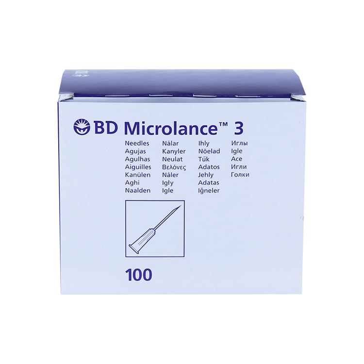 BD Microlance 3 Inj.kanyl 25G 0,50x16 mm 1x100 st