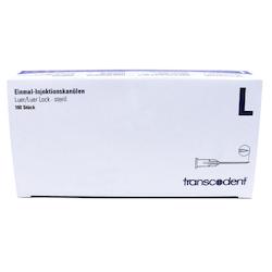 Injektionskanyl Luerlock 25g 05x3mm Orange