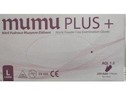 Mumu Plus + Nitrile Handskar L 100 st
