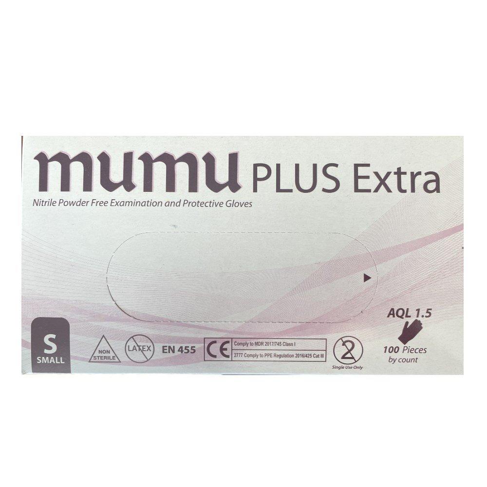 Mumu Plus + Nitrile Handskar S 100 st
