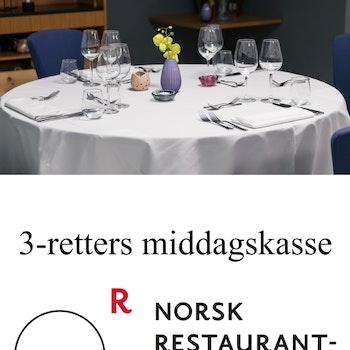3-retters middagskasse 4. juni