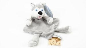 Dinglis snuttefilt, Husky, Teddykompaniet