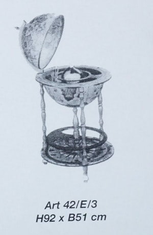 Zoffoli jordglobsbar, diameter 51 cm
