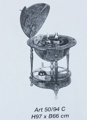 Zoffoli jordglobsbar, diameter 66 cm