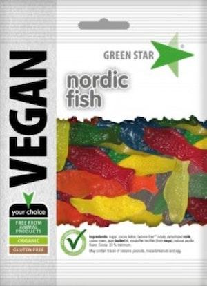 Green Star fiskar vegan glutenfri 80 g