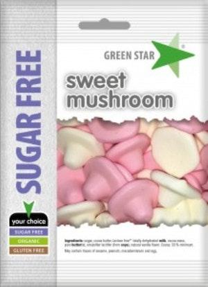 Green Star sockerfri glutenfri svampar 50 g
