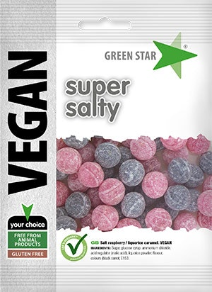 Green Star Super Salty vegan glutenfri 80 g
