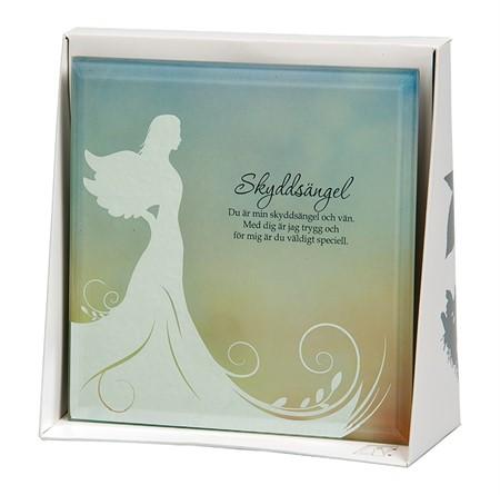 Spegeltavla, Silver Silhouette - Skyddsängel