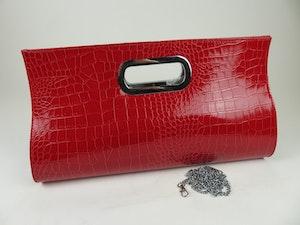 Nätt röd väska