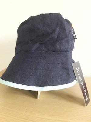 Ziestha sommarhatt, mörkblå, storlek Small