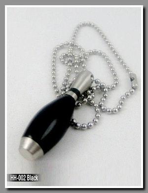 Halsband med Kägla Svart