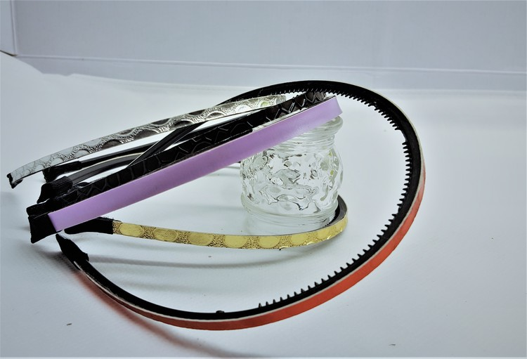 Smalt diadem 5-pack, bredd 5-7 mm