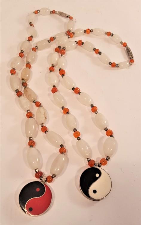 Halsband med hänge Yin/Yang