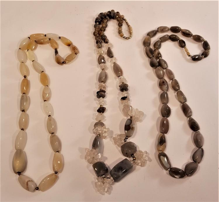 Halsband av mixad halvädelsten, 3 olika att välja på, x1