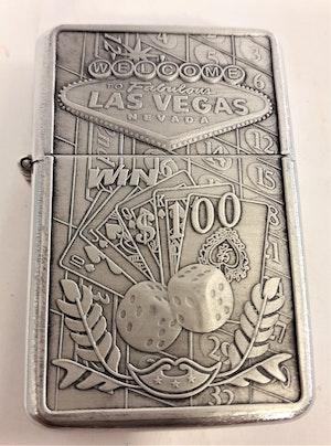 Las Vegas Gambling - Bensintändare, motiv 2 tärningar