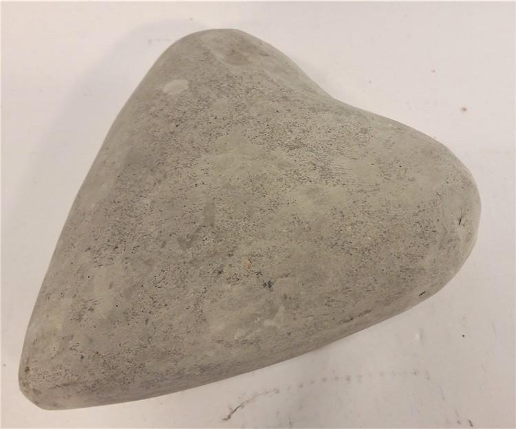 Hjärta i betong