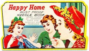 """Vintage sykit """"Happy Needle"""""""