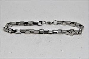 Metall Armband med Länkar