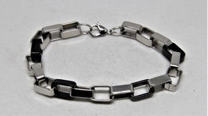 Metall Armband med Länkar med Symbol och Hjärtan