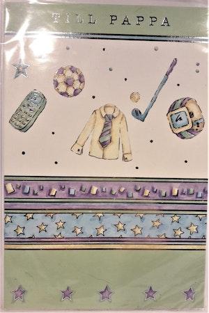 Farsdagskort med kuvert