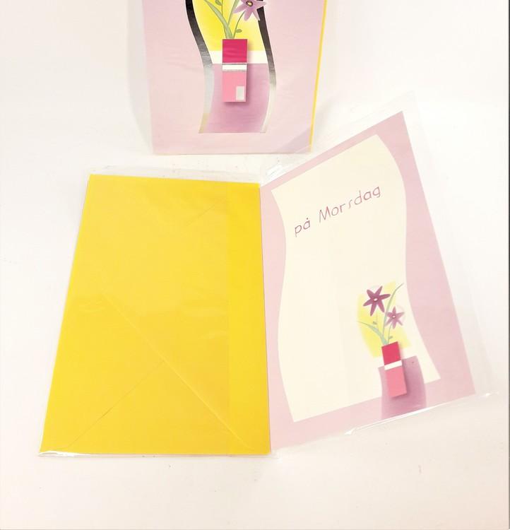 Morsdagskort med kuvert, 7 varianter