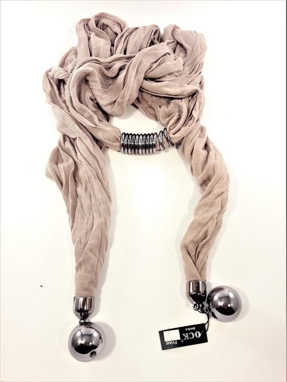 Häftig scarf, ljuslila